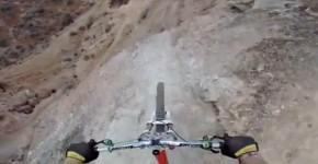 Cyklista s GoPro Utah