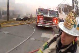 Fireman, požiarnik a GoPro