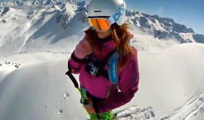 Video, zimný šport, hory - Go Pro